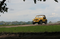Jeep del protagonista
