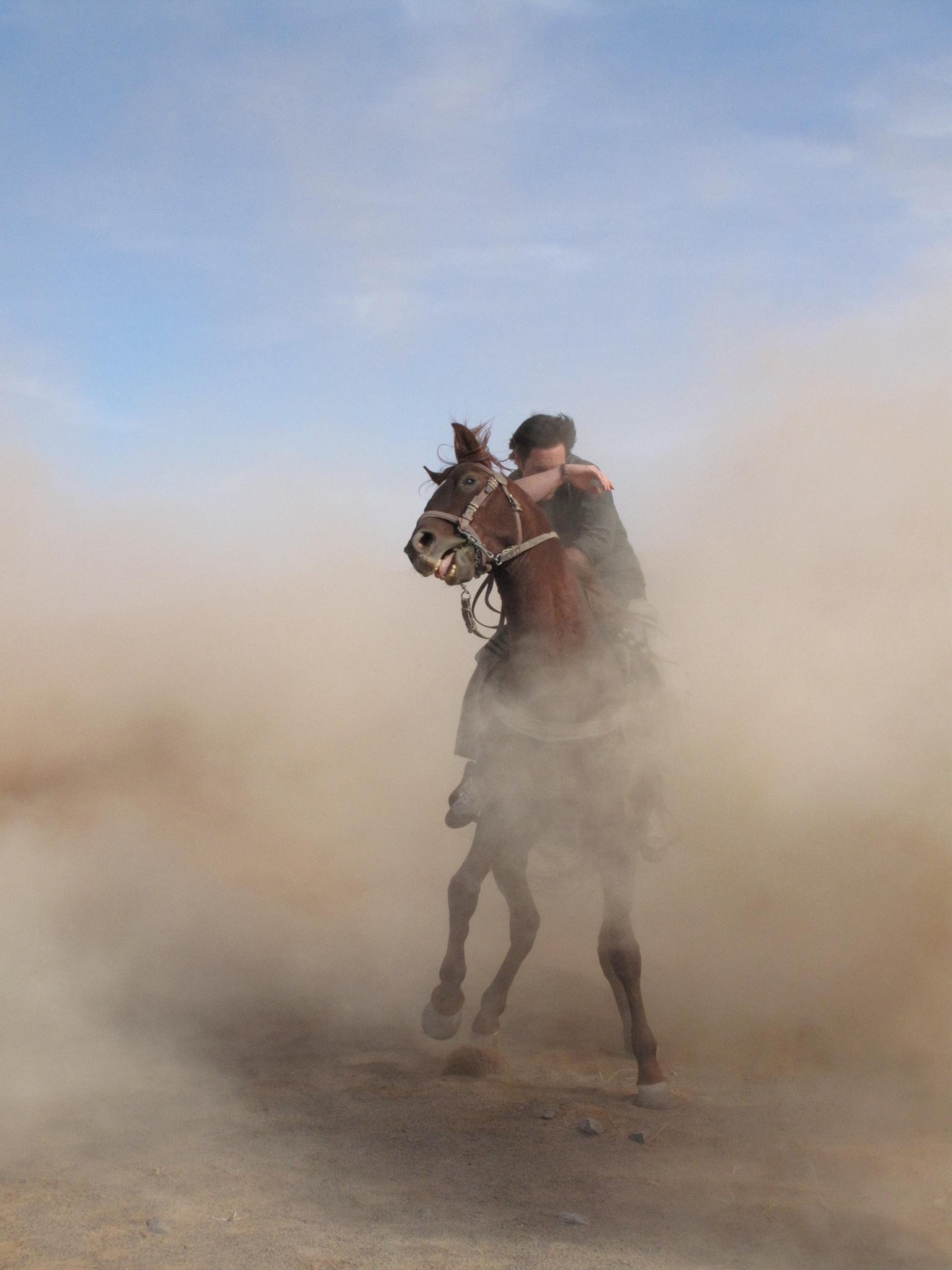 Tormenta en el Sahara