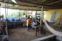 Cocina patio casa Victoria en la Ye