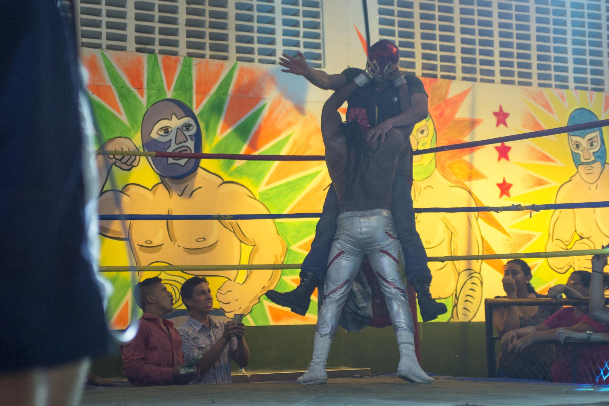Arena México-Locación intervenida