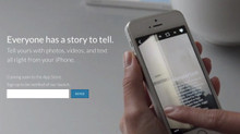 NEW mobile story-telling app coming soon!