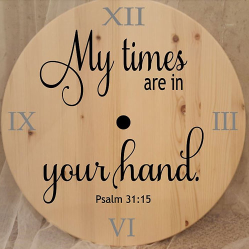 My times are in your hands