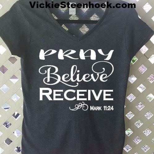 Pray Believe Receive (A)