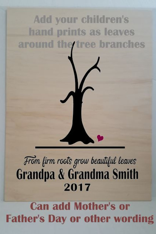 Grandparents: From firm roots