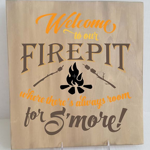 Welcome to Firepit - Room for S'more