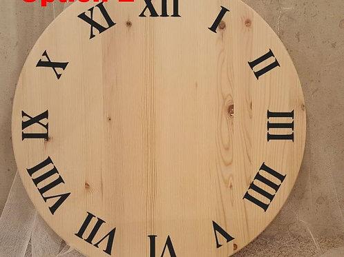 Clock - Style E: Roman basics
