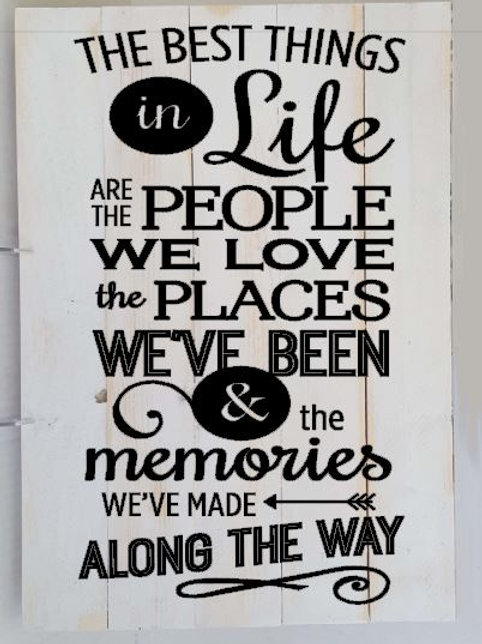 The Best Things in Life are the people