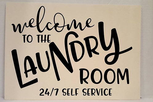 Welcome to the Laundry Room