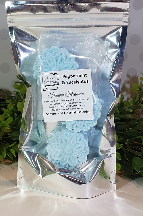 Peppermint & Eucalyptus Shower Steamer