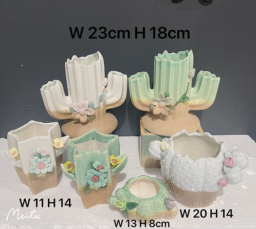 Cacti Party - Set of 6