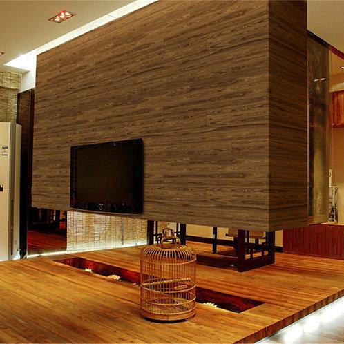 10m Realistic Wood Grain Wallpaper Roll KZ0704