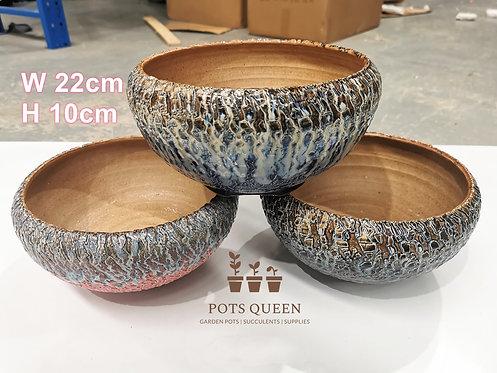 Gloss Glaze Blasting pots for Succulents Cactus Flower Outdoor #13