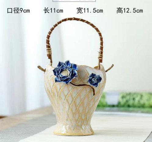 Gloss Glaze Succulent Baskets Selection 007