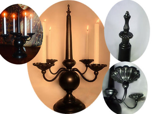 4 Trays Mid Century European design Candle Holder