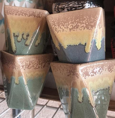 Classic Ceramic Succulent pot Multi-color