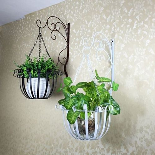 Metal Plant Hanger Wall Mount Flower Basket