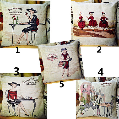 POLYESTER MIXED COTTON CUSHION COVER 5 Collection