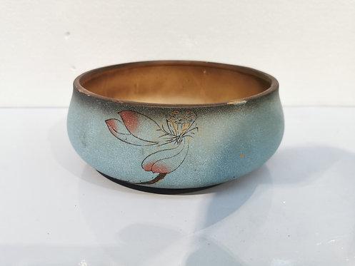 Round Plate Solid Ceramic Succulents Pot Bonsai pot
