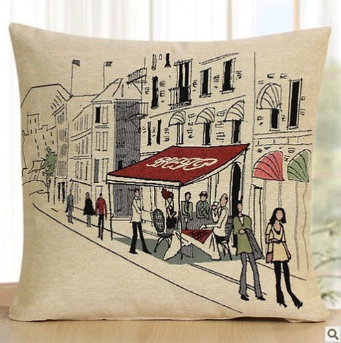 POLYESTER MIXED COTTON CUSHION COVER Shops