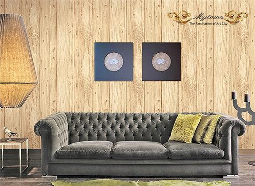 10m Realistic Wood Grain Wallpaper Roll KZ0108