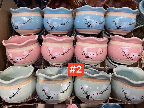 Special Sale Box Ceramic Succulents Cactus Pots #2