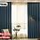 Thumbnail: Linen Velvet Quality 70% Block out Curtains Pair