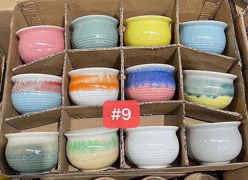 Special Sale Box Ceramic Succulents Cactus Pots #9