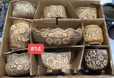 Special Sale Box Ceramic Succulents Cactus Pots #14