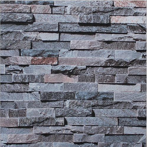 3D Brick STONE Color Slate Project Wallpaper Roll