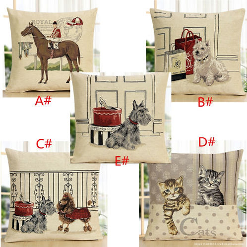 POLYESTER MIXED COTTON CUSHION COVER 5 Collections