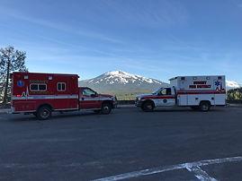 Ambulances 17 and 217