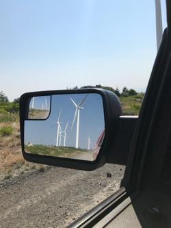 Windmills in the mirror