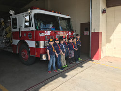 Local Boy Scout troop tours Burney Fire Station
