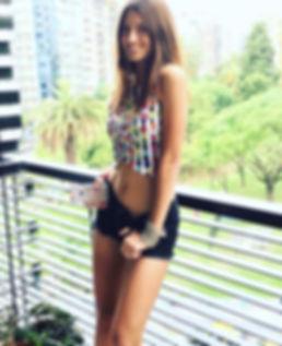 Lola Latorre modelo exclusiva de CHEKKA BUENOS AIRES