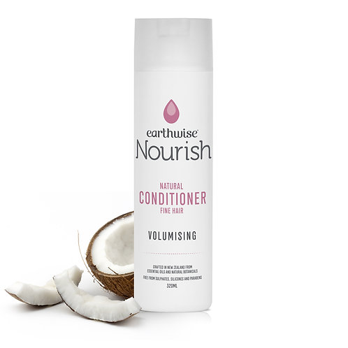 "Earthwise Nourish Natural Conditioner ""Volumising"" for Fine Hair"