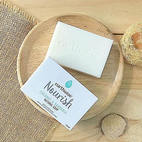 Nourish Coconut & Gardenia Natural Soap