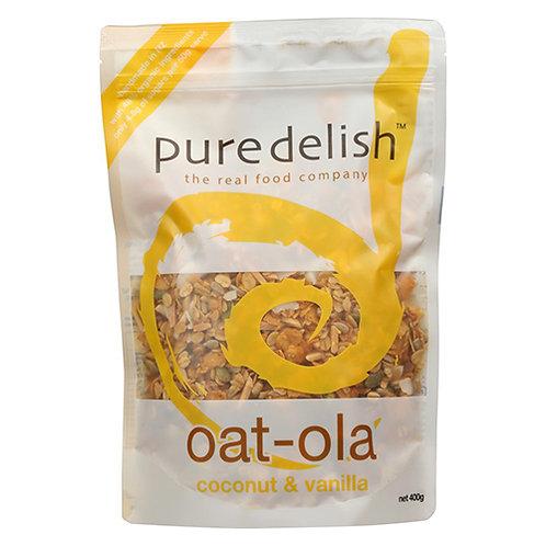 PURE DELISH Coconut & Vanilla Oat-Ola
