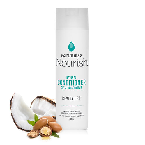 """Earthwise Nourish Natural Conditioner """"REVITALISE"""" for Dry & Damaged Hair"""