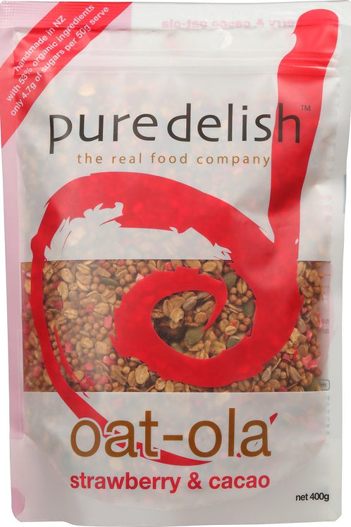 PURE DELISH Strawberry & Cacao Oat-Ola