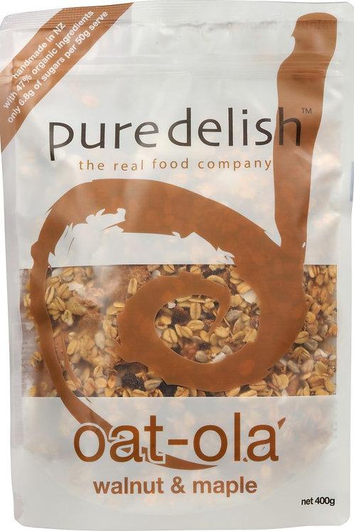PURE DELISH Walnut & Maple Oat-Ola