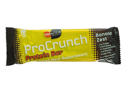 Procrunch Protein Bar BANANA ZEST