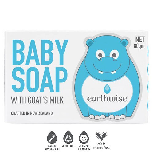 Earthwise Nourish Baby Soap With Goat's Milk
