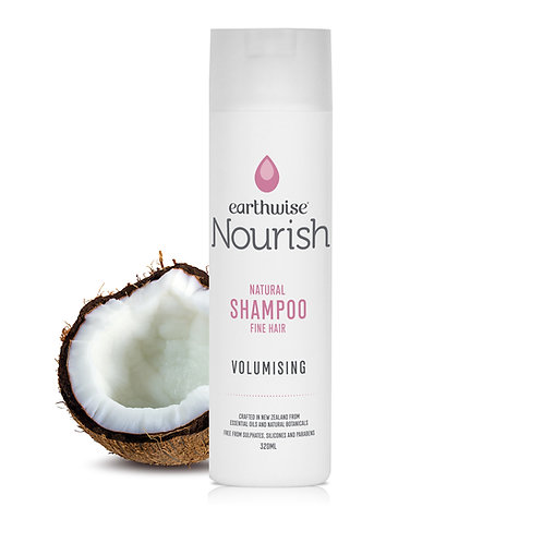 "Earthwise Nourish Natural Shampoo""Volumising"" for Fine Hair"