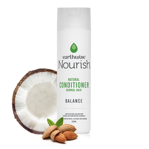 "Earthwise Nourish Natural Conditioner ""Balance"" for Normal Hair"