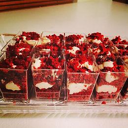 Red Velvet Cake Shooters