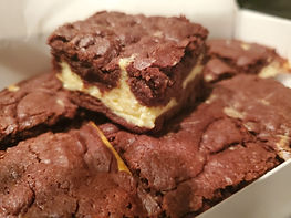 Cheesecake Brownie Sandwich
