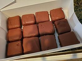 Chocolate Dipped Cheesecake