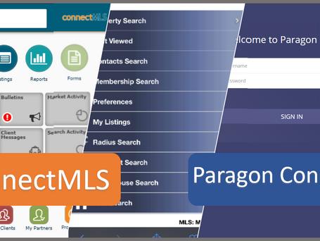 ConnectMLS, Paragon Mobile, Now Paragon Connect!
