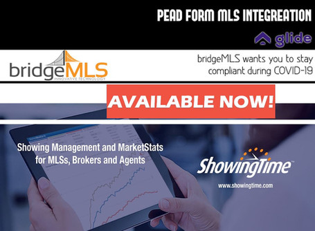 Showing Time and PEAD Form MLS Integration is available Now