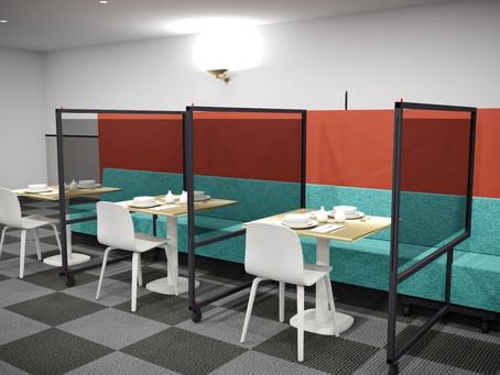 Acrylic Glass Shield Barrier for Restaurants